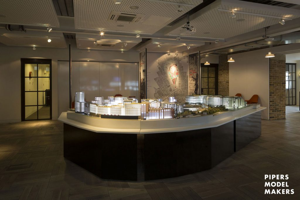 Kings Cross Argent Architectural Model